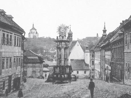Banská Štiavnica na starých pohlednicích