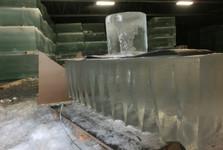 ľadové kvádre a ďalšie krásy vyrobené z ľadu