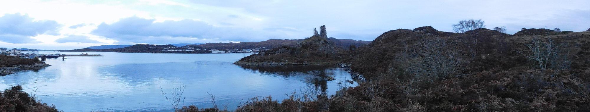Kyleakin – zřícenina hradu Moil
