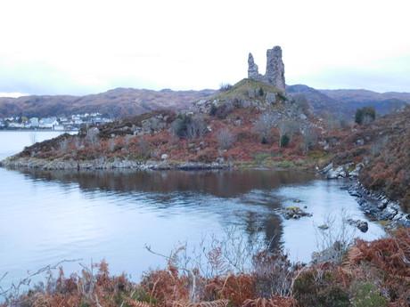 руины замка Moil