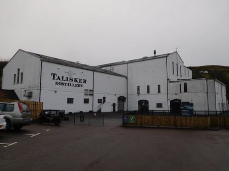palírna whisky Talisker