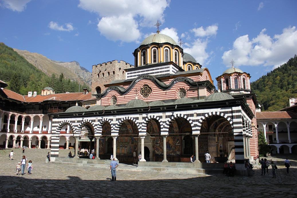 Rilský kláštor, kostol svätej Bohorodičky
