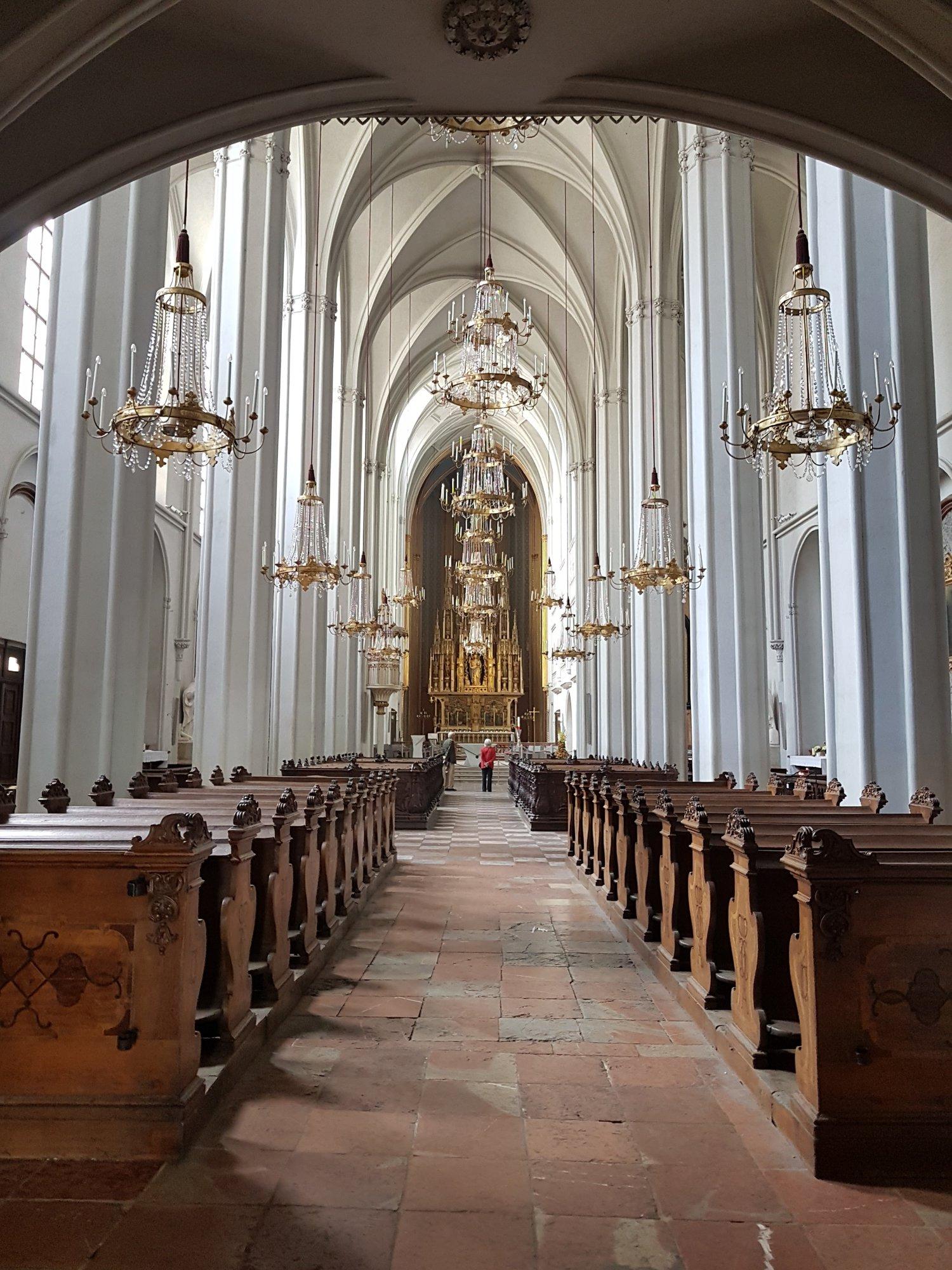 костел августинцев в Хофбурге, место всех императорских свадьб
