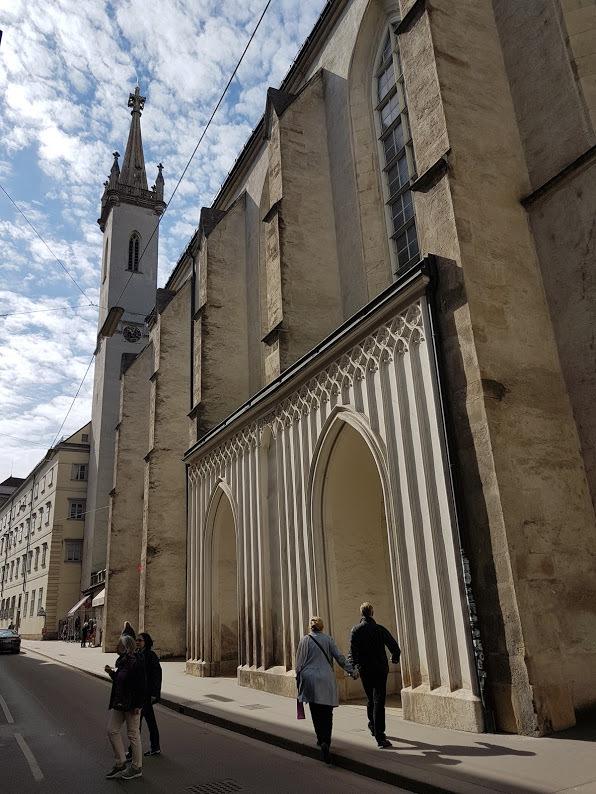 kostol augustiniánov vo Viedni