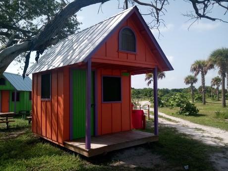chatky k pronajmutí ve Virginia Key Beach Park