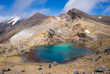 Tongariro – Emerald Lakes