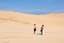 duny u Ninety Miles Beach