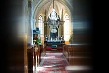 Králova Lehota - kostel (interiér)