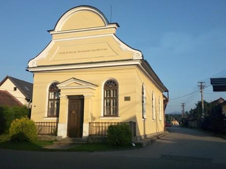 Vavrišovo - modlitebňa Baptistickej cirkvi