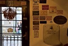 kavárna v Olbrachtově ulici