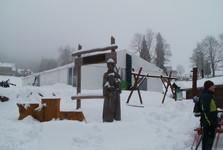 u běžeckého lyžařského areálu v Bedřichově