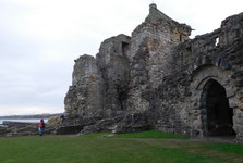 castle, St Andrews