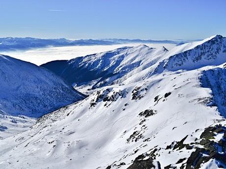 výhľad z Plačlivého do Žiarskej doliny