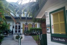 the house where Ernest Hemingway used to live – today a museum