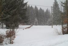 дорога из Грабетиц к Йозефодольскому водохранилищу