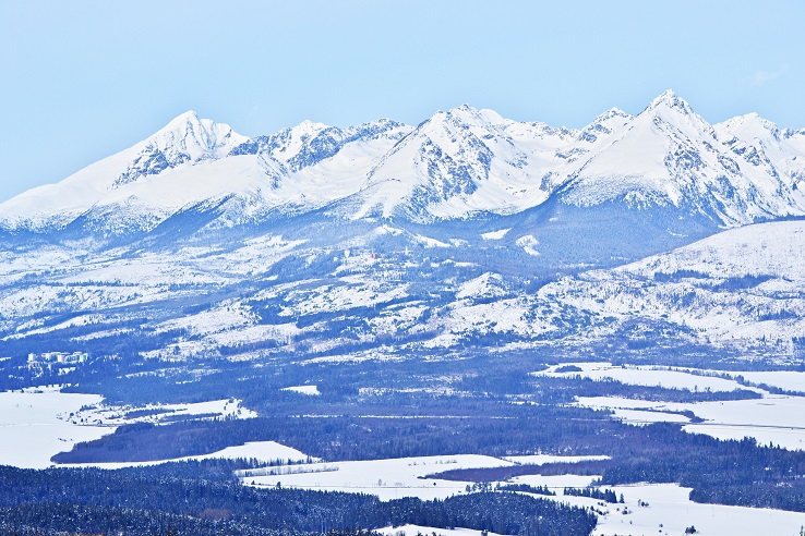 west part of the High Tatras