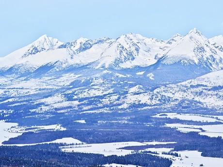západná časť Vysokých Tatier