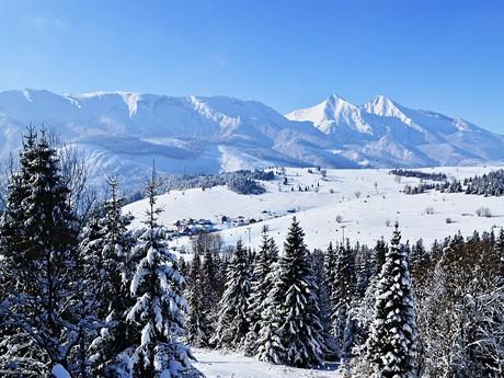 Bachledova dolina a Belianské Tatry