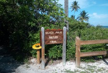 gateway to the Silver Palm Natural Trail