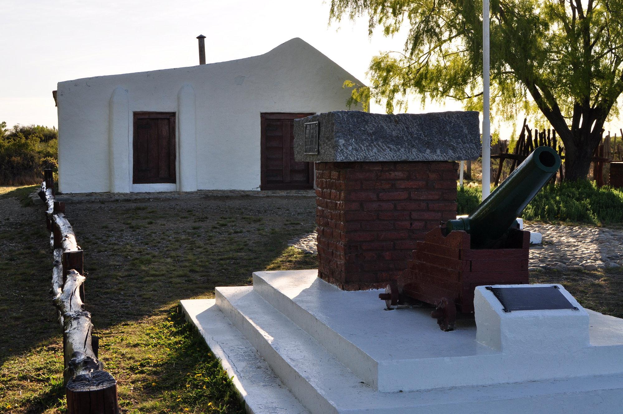 dům velitele Luise Piedra Buena
