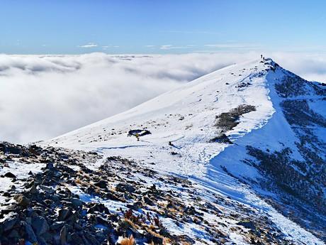 Седло-под-Острвой и гора Острва
