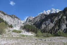 горы на юге парка