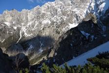 по гребеню горы Festkogel Hochtor