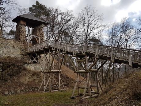 Zlenice castle
