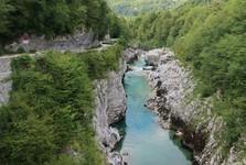 Kobarid - pohľad z mosta