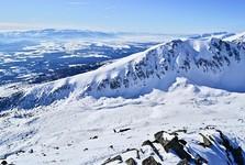 Furkotská dolina s Nízkymi Tatrami v pozadí