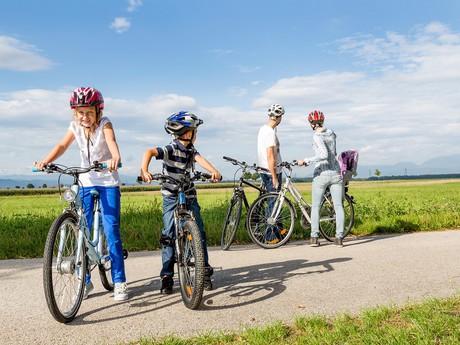 na bicykli - (c) Wiener Alpen/Franz Zwickl