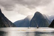 úplný jih Jižního ostrova