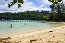 национальный парк Тунку Абдул Рахман - остров Гайя