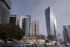 moderní centrum Tel Avivu