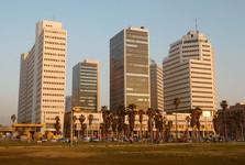 moderné centrum Tel Avivu