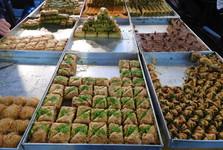 na tržišti v Tel Avivu