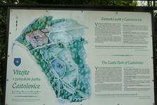 замок Частоловице и парк