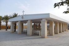 cestou k místu křtu Ježíše Krista