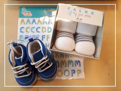 nažehlovacia abeceda na textil s topánočkami