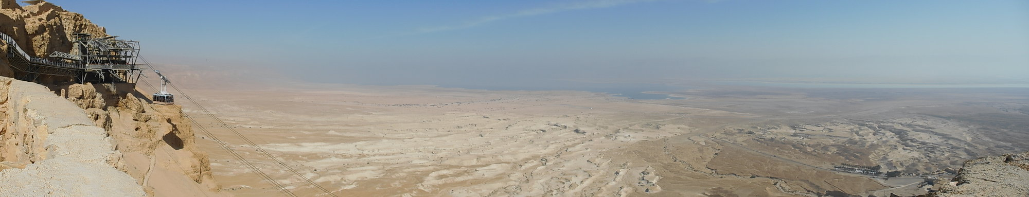 a vista from Masada fortress