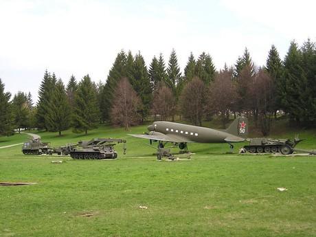 přírodní expozice Vojenského muzea ve Svidníku