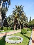 Bahajské zahrady – vrchní přístup