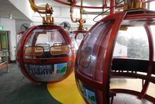 futuristic cable car