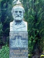 busta G. Verdiho (La Roncole)