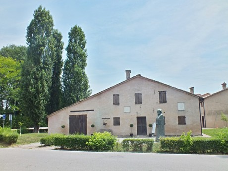 the native house of G. Verdi