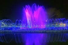Perdana Park a hudební vodní fontána
