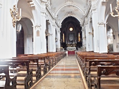 St Bartholomew church interior (Busseto)