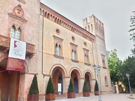 крепость Rocca Pallavicino (Буссето)