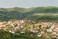 výhľad z vrchu Damil