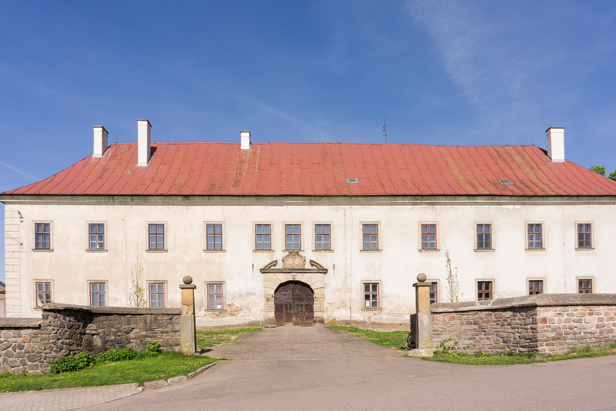 Rokytnice chateau, Orlicke Mountains